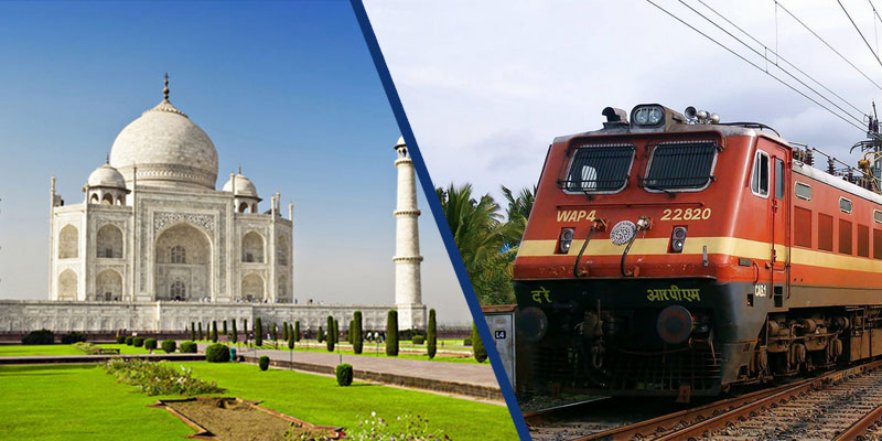 AGRA DAY TOUR BY GATIMAAN EXPRESS TRAIN FROM DELHI