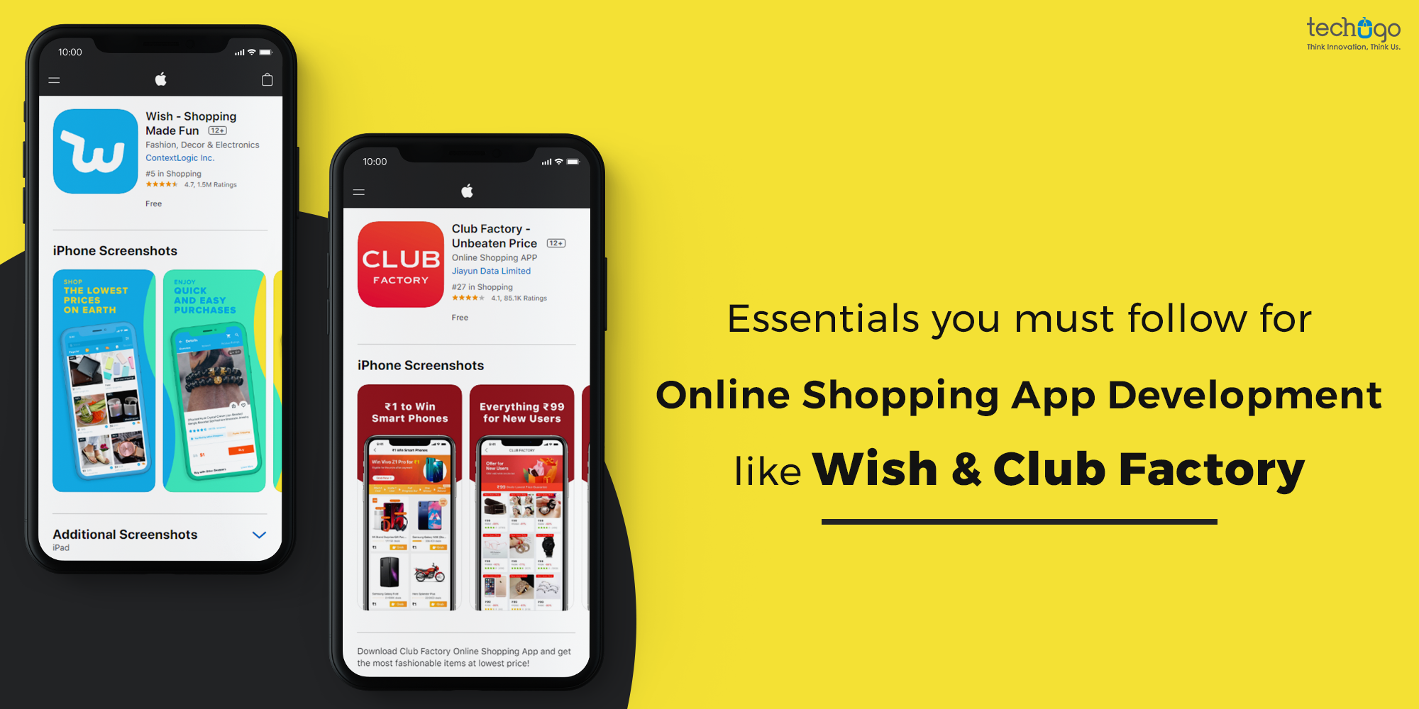 Essentials You Must Follow For Online Shopping App Development Like Wish & Club Factory