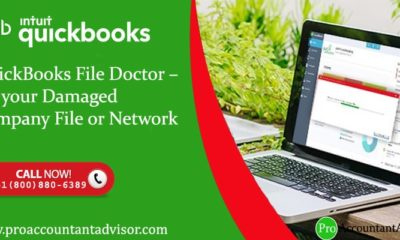 QuickBooks File Doctor – Fix your Damaged Company File or Network - Featured Image
