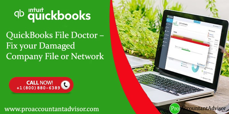 Use QuickBooks File Doctor to Fix Your Damaged Company File