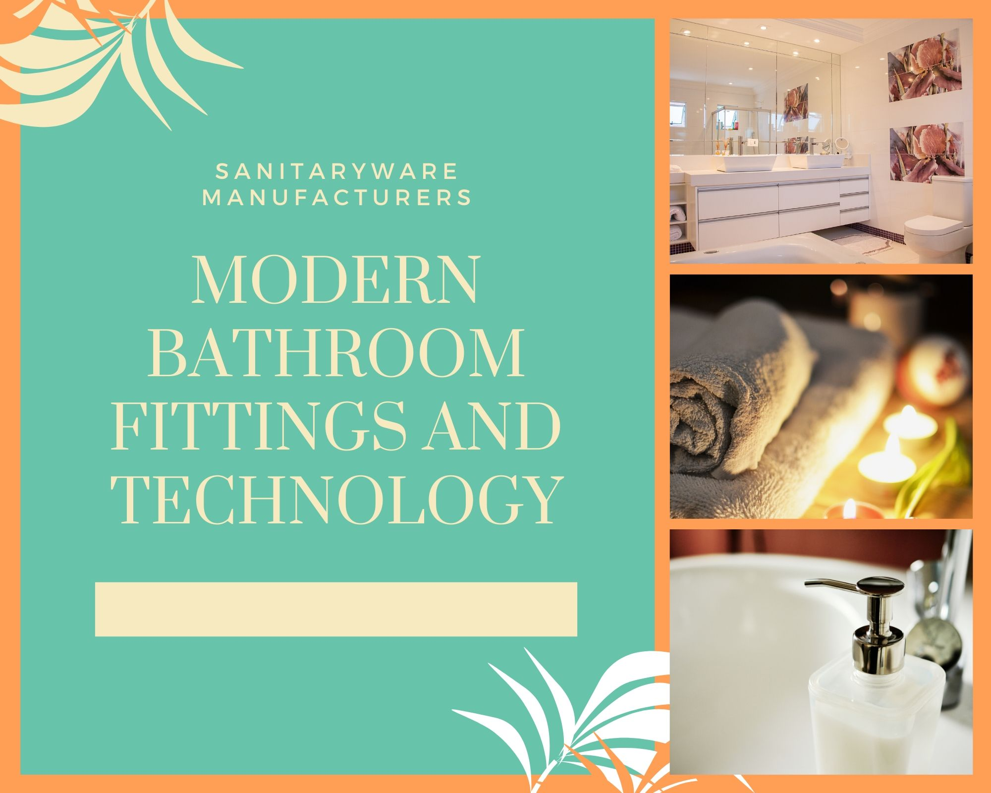 Sanitaryware Manufacturers Saving Water with Modern Bathroom Fittings and Technology