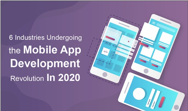 6 Industries Undergoing the Mobile App Development Revolution In 2020