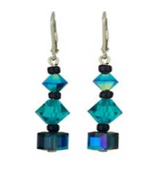 Dichroic-glass jewelry
