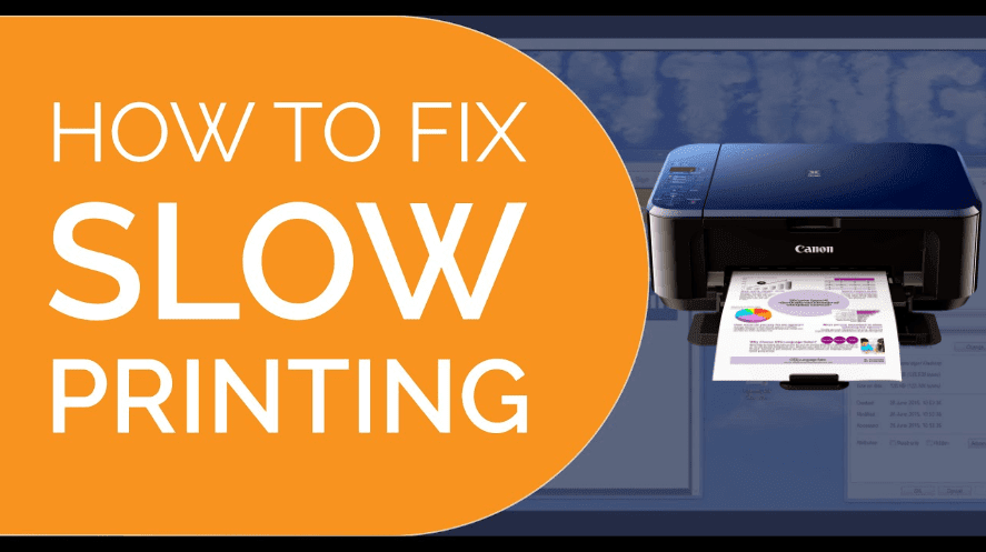 How to Solve Canon Printer Printing Slow Problems?