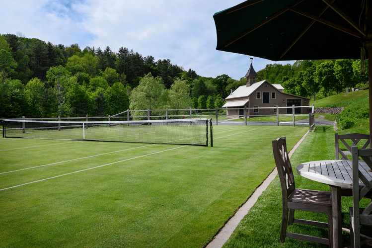 Property With A Tennis Court