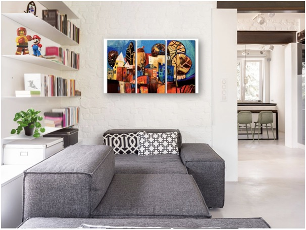 How To Decorate Your House With Modern Art?