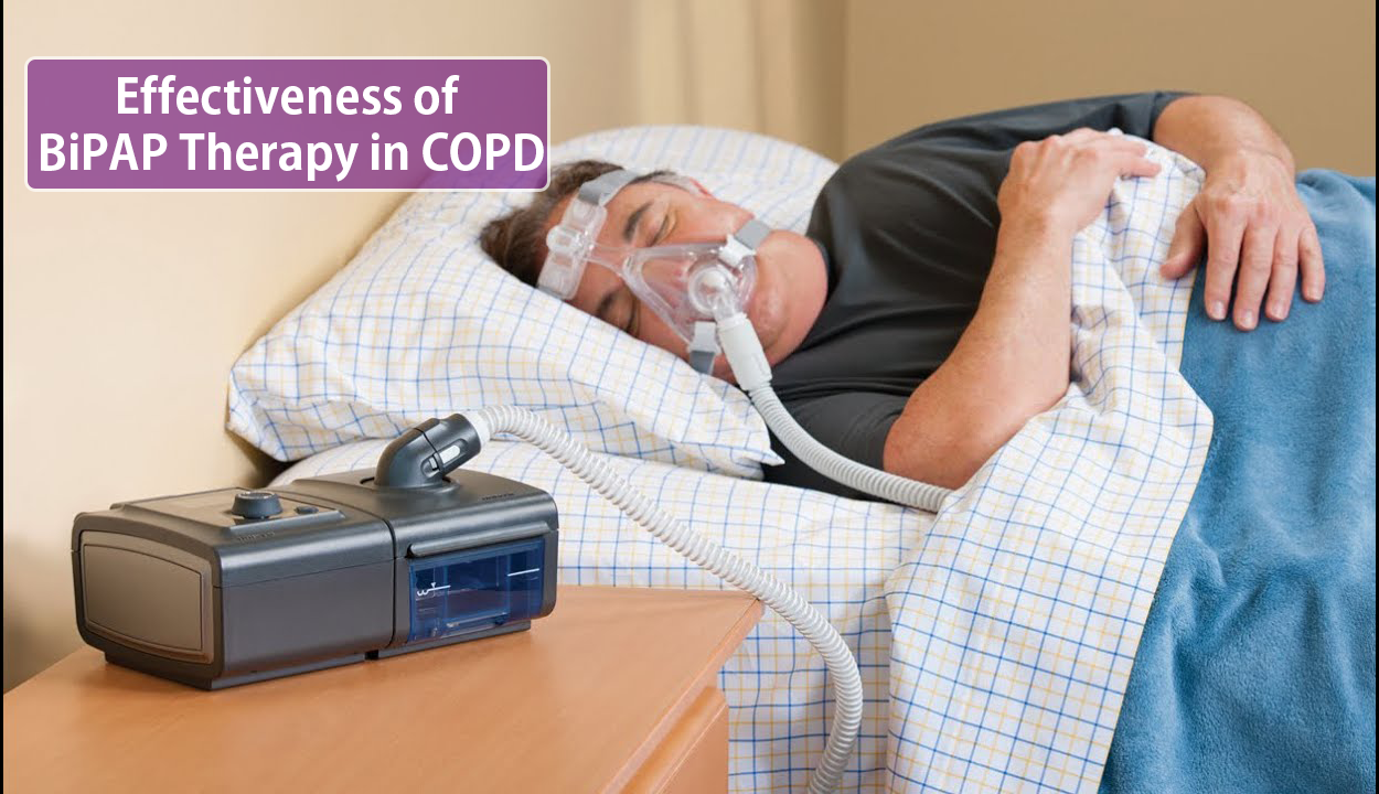 Effectiveness of BiPAP Therapy in COPD