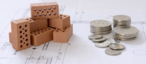 Bricks, coins, and a remodeling plan.