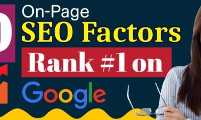 On-Page SEO Factors Rank